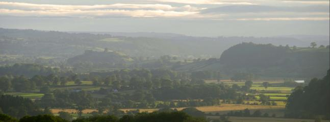Towy Valley - View from back yard