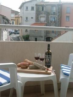 Lunch on the Balcony