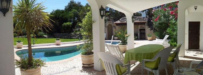 Southern terrace near pool