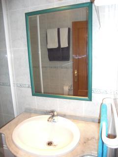 bathroom in suite - master bedroom