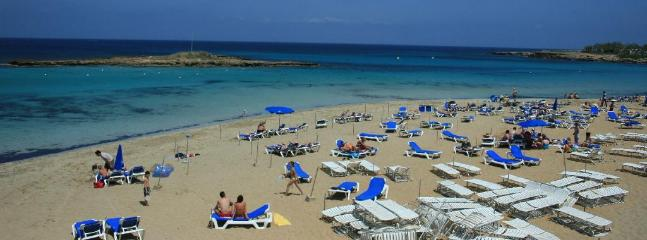 Stunning beach, fine sand and sparkling blue waters in local east coast beaches