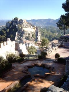 the castle at Xativa