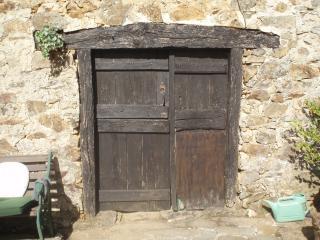 The old woodstore door!