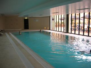 indood heated pool