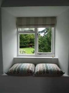 Top bedroom window seat.