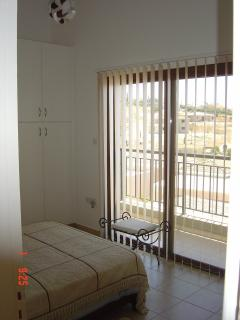 Bedroom 1 with private balcony