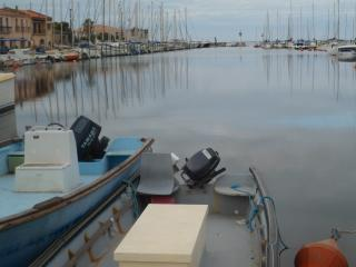 stunning port surrounded by restaurants - jousting, sailing and festivities all summer long