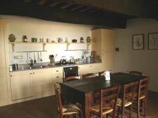 The spacious kitchen/diner