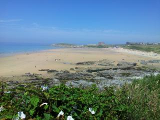 Fistral Beach at low tide