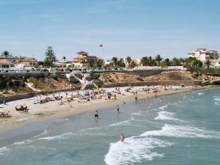 La Zenia beach (10 mins walk)