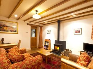 Comfy lounge with log burner for those chillier nights