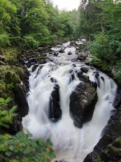 Waterfalls at the Hermitage near Dunkeld