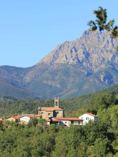 Irola di Sopra Nestled in the Mountains,