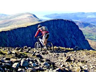 Cadair Idris - just one of the many guiding options available at MudTrek Mountain Bike Breaks
