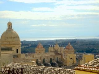 Town view, two apartments in historic center of Noto