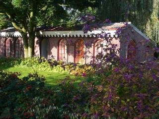 Cute Cottage in sculpture garden, Venlo