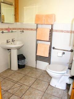 Ensuite shower room suitable for wheelchair users