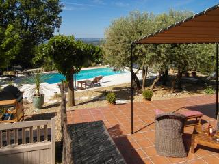 Terrace with direct access to the pool