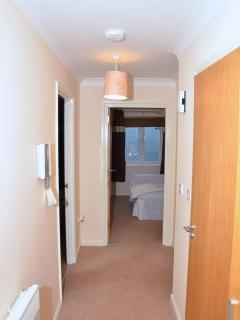One bedroom apartment Hallway