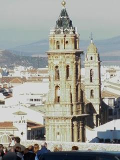 Our answer 'The Leaning Tower of Antequera' Bell Tower of San Sebastian Church
