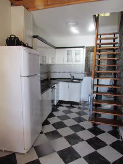 Kitchen and stairs to first floor