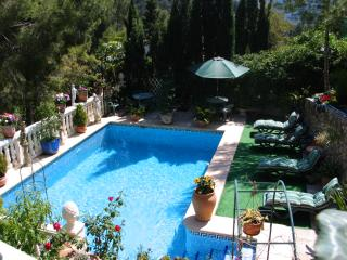 A delightful, comfortable and attractive large villa in an enchanting setting..