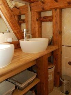 Chalet Clos Piton - vue salle de bain