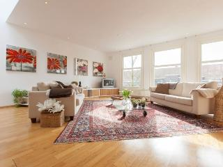 Spacious, light, apartment with roofterrace, Ámsterdam