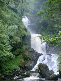 Waterfalls of Gimel Cascades