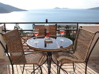 Enjoy a glass of wine on the private roof terrace