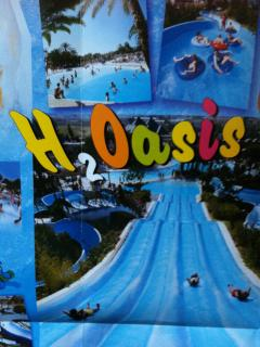 Two big water Parks Nearby 20 Mins walk or 10 mins on Bus Across the Road