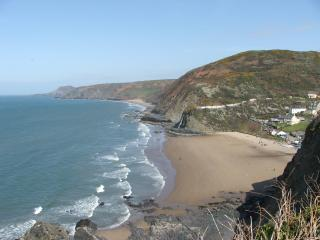 Fronifor house includes 3 self catering flats, Tresaith
