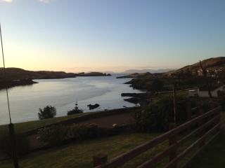 Teelin bay at sunset, breahtaking