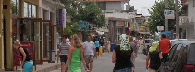 ST VLAS MAIN ROAD WITH ITS SHOPS