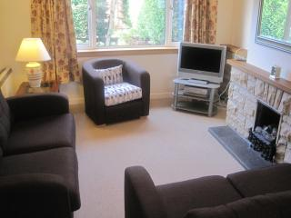 Living room with 2 new sofas, armchair, TV/DVD and WIFI