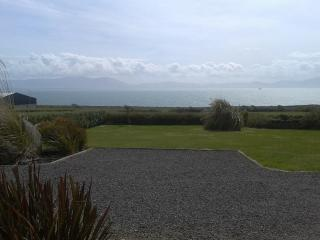 Front garden and sea view