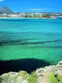The beautiful waters of Javea