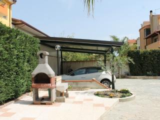 parking and barbecue