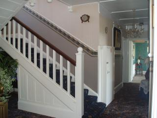 Open staircase from Drawing Room