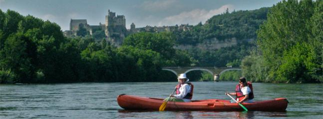 Spend a lazy day canoeing down the Dordogne River. The views are breathtaking!