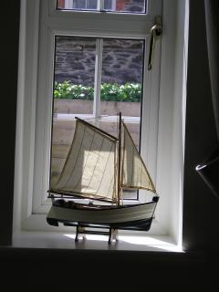 One of the kitchen windows