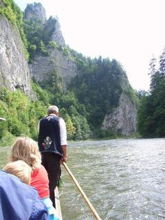 Rafting (not white water) on the Polish Border