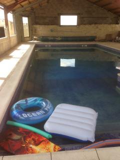 Indoor heated large pool