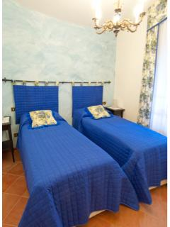 new bedroom in Sasso Blu apartment