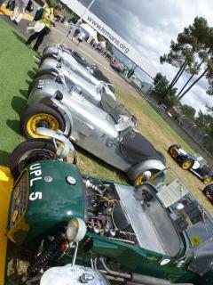 Le Mans Classic Car fesival,