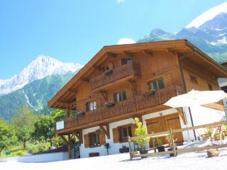 Chalet with amazing views of the Mont Blanc Massif, Chamonix
