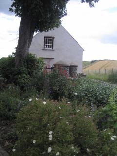 Gable window of Miller's barn