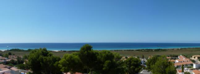 Part panoramic view from the villa