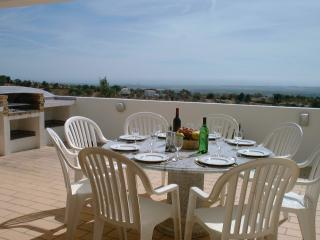 Terrace Dining with BBQ and sea views