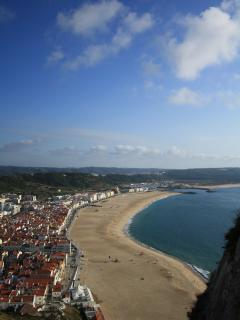 beautiful beach of Nazare